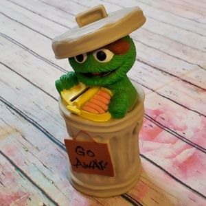 Vintage Oscar the Grouch piggy bank